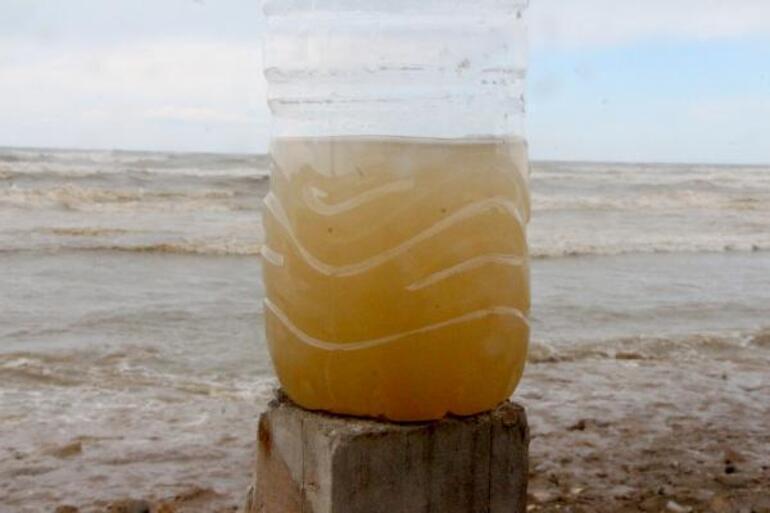 Karataş sahilinde korkutan manzara  İçimizi kaynatan bir olayla karşı karşıyayız