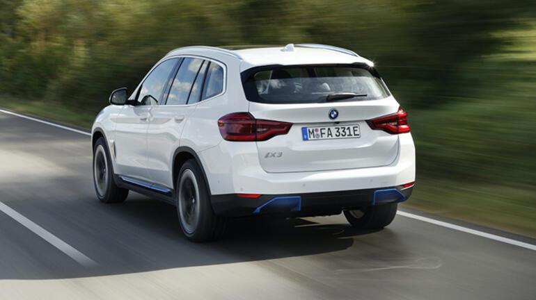 Elektrikli BMW iX3 showroom'lardaki yerini aldı