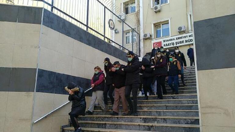 İstanbulda 60 adrese fuhuş baskını