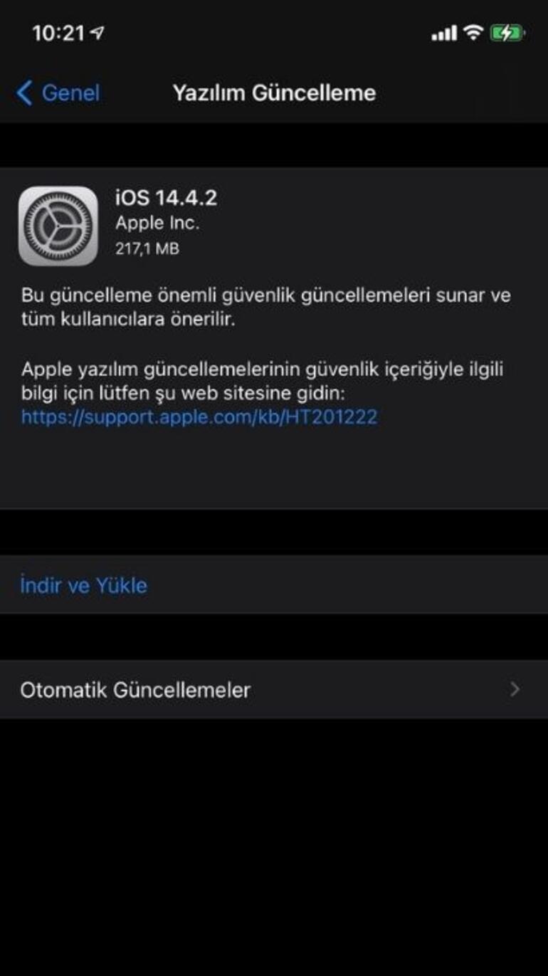 Yeni iOS sürümü çıktı: Hemen yüklemeyi yapın