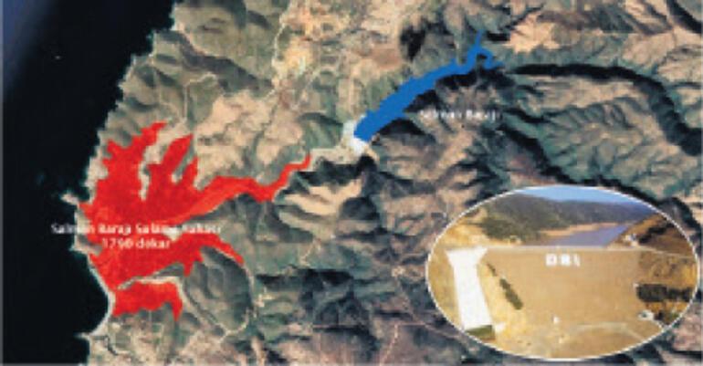 Sulama şebekesiyle gölet tamamlanacak