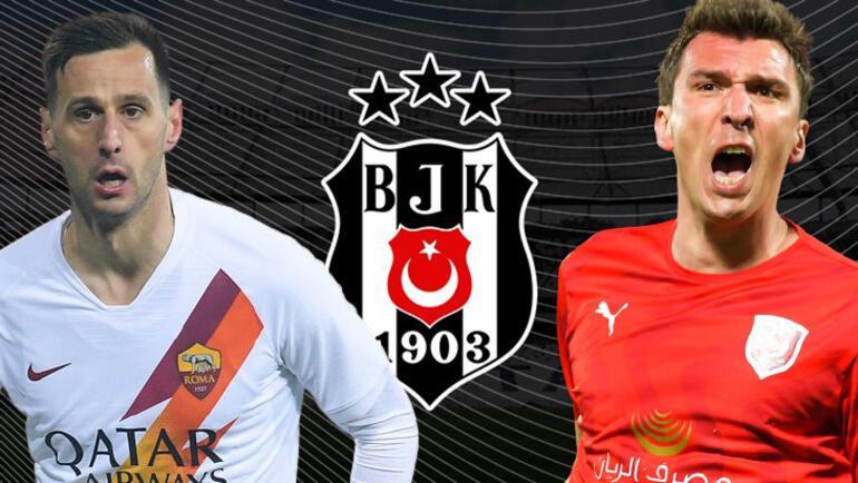 Son dakika - Beşiktaş transferde direkten döndü Kalinic ve Mandzukic yokları oynuyor