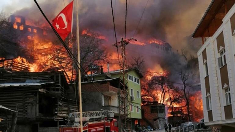 Artvin'de yanan köyden çağrı Yardımlar bize yetti, başkalarına gönderin