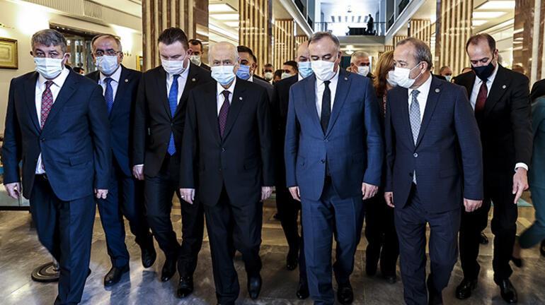 Son dakika... MHP lideri Bahçeliden Kılıçdaroğluna HDP tepkisi: Herkes gördü sen mi görmedin