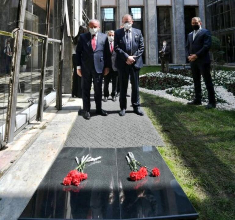 TBMM Başkanı Şentop, AKPM Başkanı Daems ile görüştü