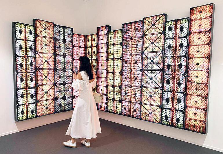 Yılın ilk fiziksel sanat fuarı: Art Dubai