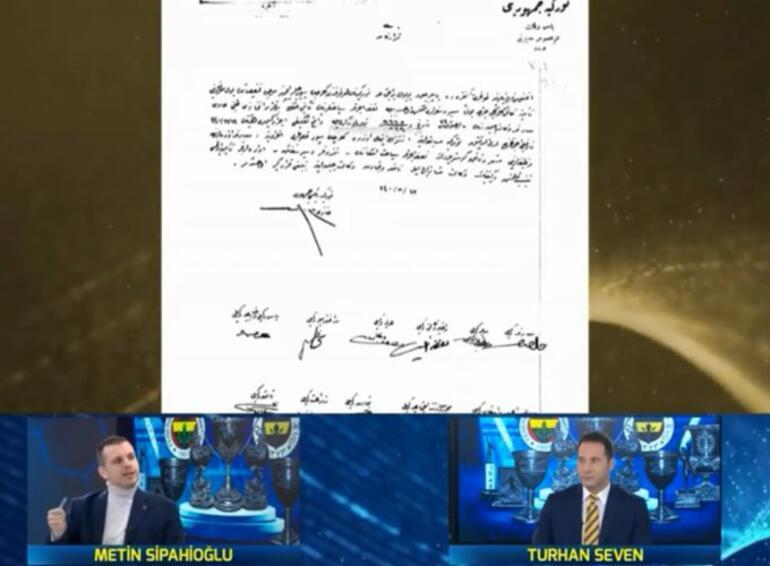 Fenerbahçe yöneticisi Metin Sipahioğlundan Galatasaraya yanıt Biz mi hırsızız, siz mi