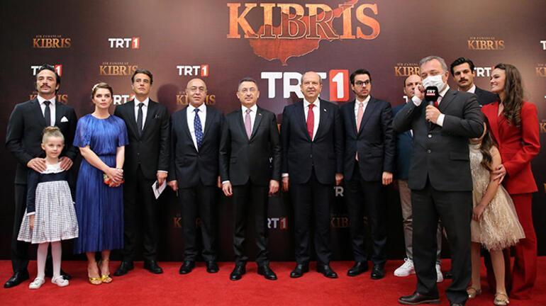 Cumhurbaşkanı Yardımcısı Oktay, Bir Zamanlar Kıbrıs dizisinin galasına katıldı