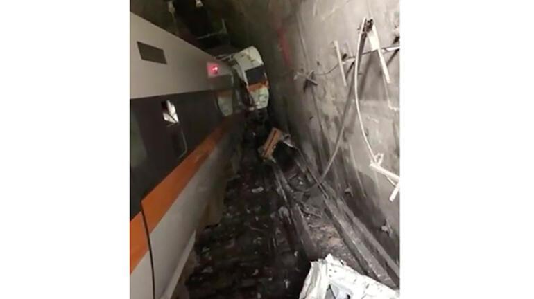 Son dakika: Dünya çalkalandı Tren kazası: Çok sayıda ölü ve yaralı var