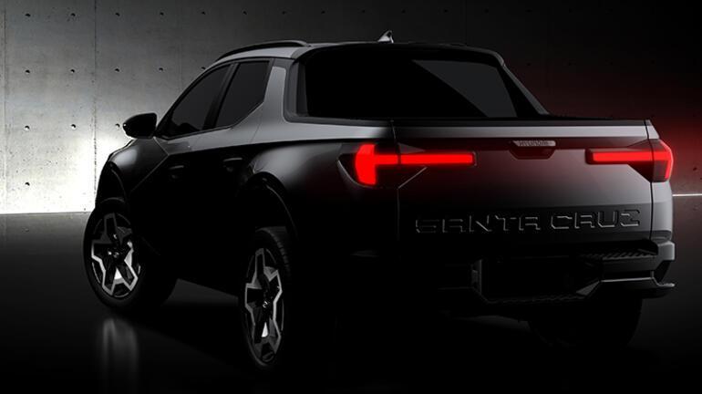 Hyundai Santa Cruz'dan ilk çizimler paylaşıldı