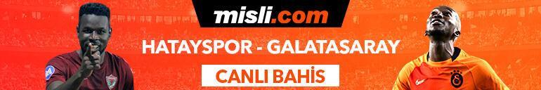 Hatayspor - Galatasaray maçıTek Maç ve Canlı Bahis seçenekleriyle Misli.com'da
