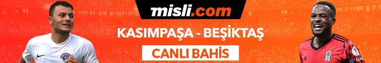 Kasımpaşa - Beşiktaş maçı Tek Maç ve Canlı Bahis seçenekleriyle Misli.com'da