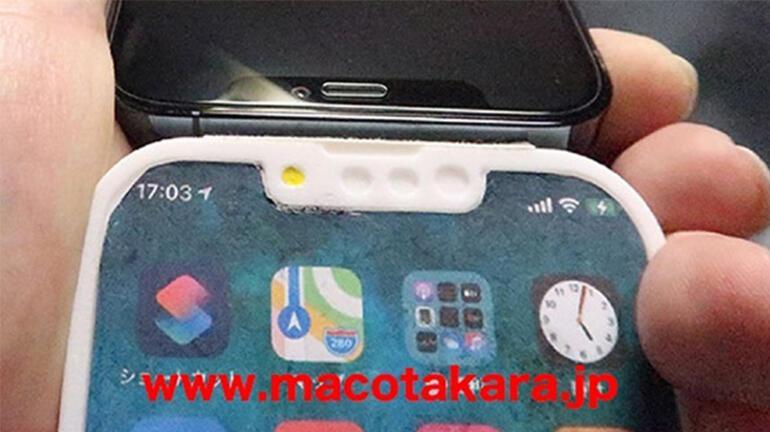 iPhone 13 ile ilgili ortaya çıkan çentik boyutu ve diğer detaylar