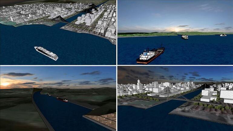 Kanal İstanbul nedir Kanal İstanbul projesi güzergahı, maliyeti, haritası bilgileri