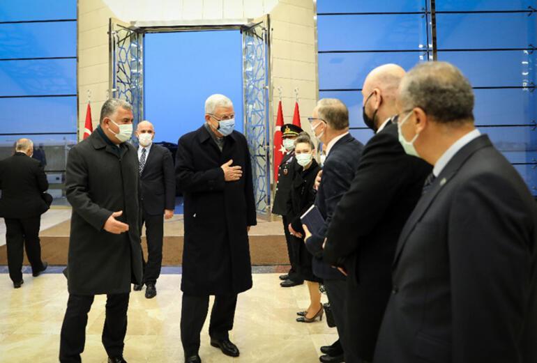 BM 75. Genel Kurul Başkanı Bozkır Ankaraya geldi