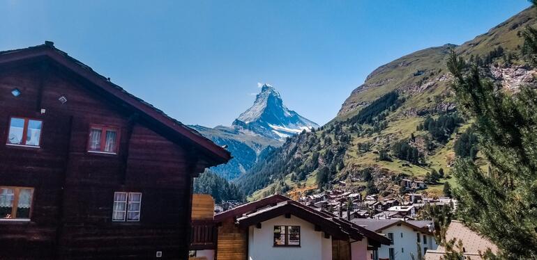 Dünyanın en ikonik zirvesi Matterhorn