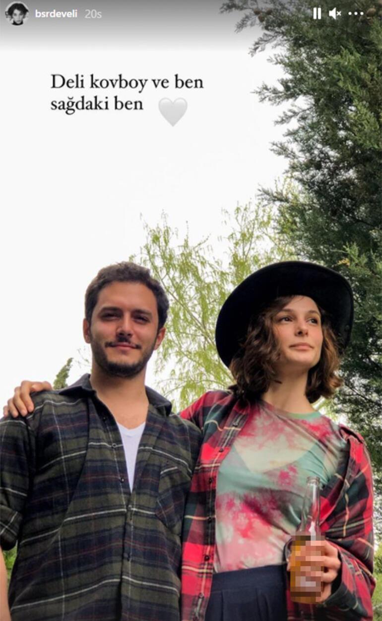 Büşra Develiden aşk paylaşımı: Deli kovboy ve ben