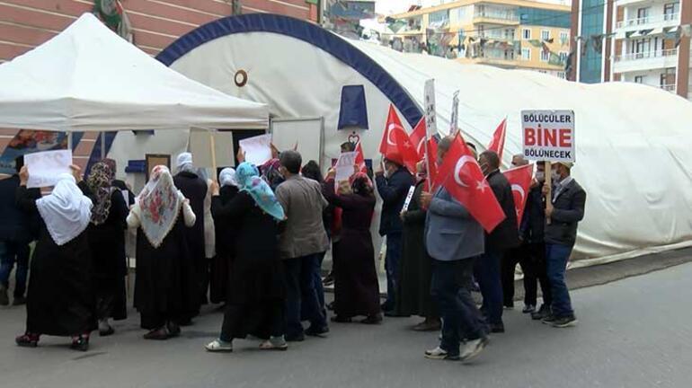 HDP önündeki eylemde 582nci günde aile sayısı 222 oldu
