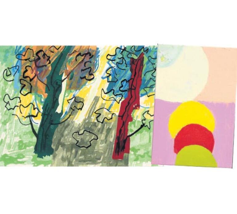 Ressam Etel Adnan'ın çok renkli kozmosu