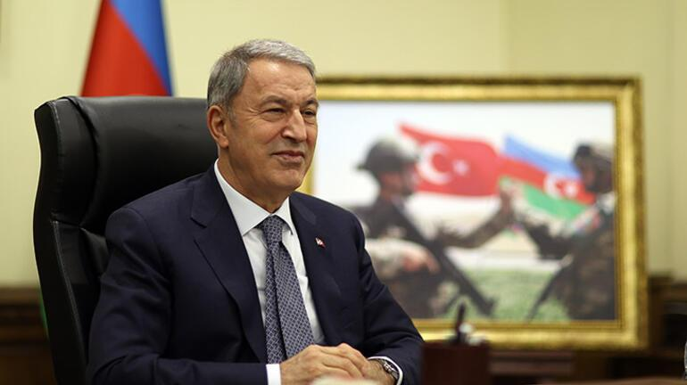 Milli Savunma Bakanı Akar, Azerbaycanlı mevkidaşı ile görüştü: Tarihe altın harflerle yazılacak