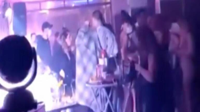 Korona partisine polis baskını Saniye saniye kaydedildi