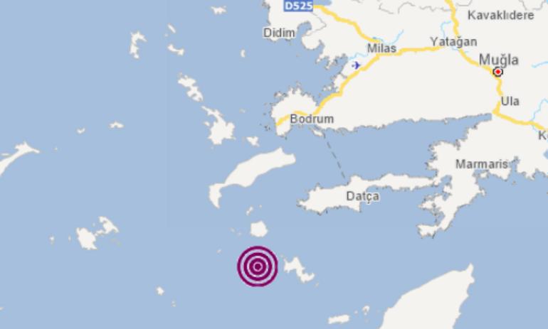 Son dakika: Ege Denizinde korkutan depremler
