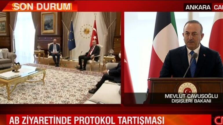 Son dakika... AB ziyaretindeki protokol tartışmasıyla ilgili Bakan Çavuşoğlundan açıklama