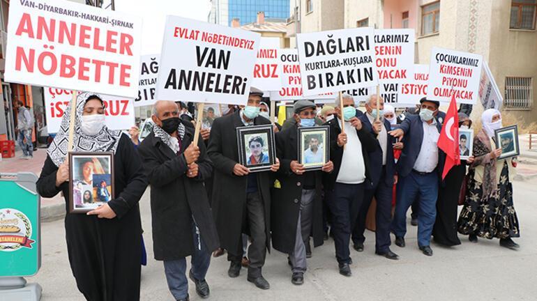 Vandaki annelerin evlat eylemine Diyarbakırdaki annelerden destek