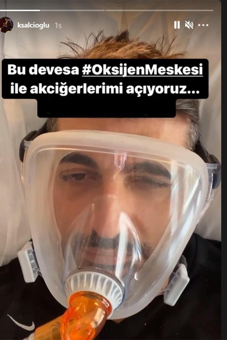 Koronavirüse yakalanan Kalust Şalcıoğludan haber var