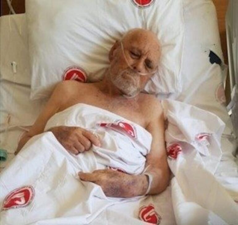 Defnettiği babası hastanede karşılarına çıkınca bayıldı