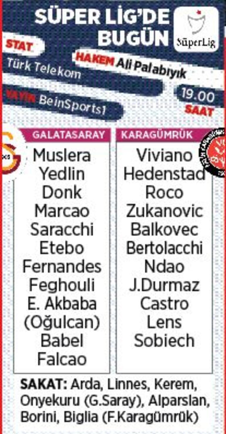 Son dakika - Galatasaray, Fatih Karagümrük karşısında Muhtemel 11ler...