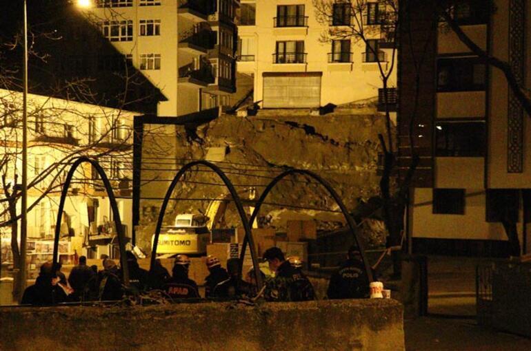 Ankarada korku dolu anlar Binalar tahliye edildi