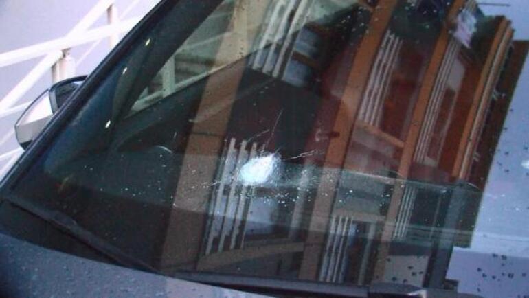 Otomobilde oturuyordu Korkunç olay...
