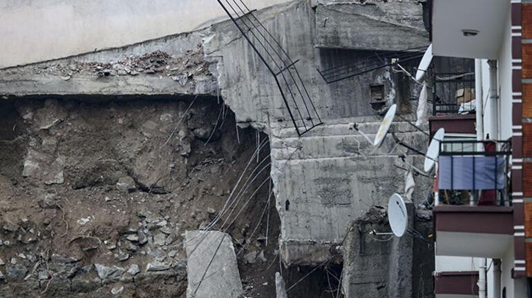 Ankara'da, temeli kayan apartman nedeniyle 21 bina boşaltıldı - Güncel  Haberler Milliyet