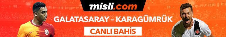 Galatasaray - Karagümrük maçı heyecanı Misli.comda