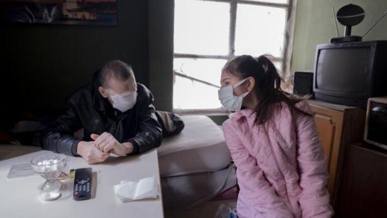 Cilt kanserinden yüzünü kaybetti Kızımı öpmeyi çok özledim
