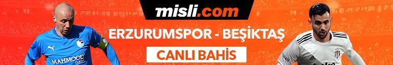BB Erzurumspor - Beşiktaş maçı Tek Maç ve Canlı Bahis seçenekleriyle Misli.com'da