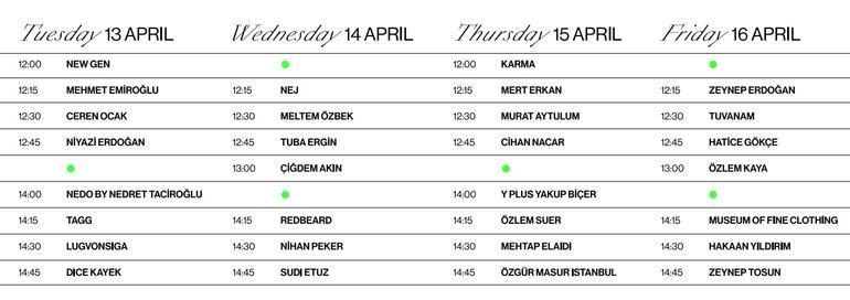 Fashion Week Istanbul için geri sayım başladı