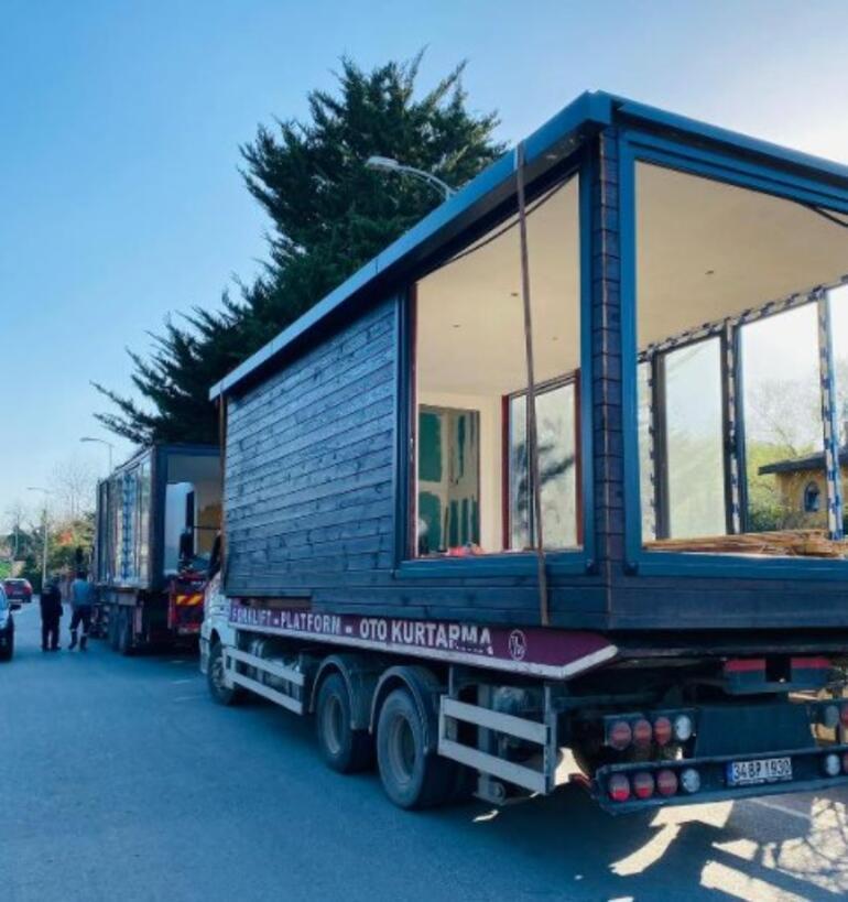 Son dakika... İstanbulda sayıları arttı Kamyon kamyon ev taşıdılar