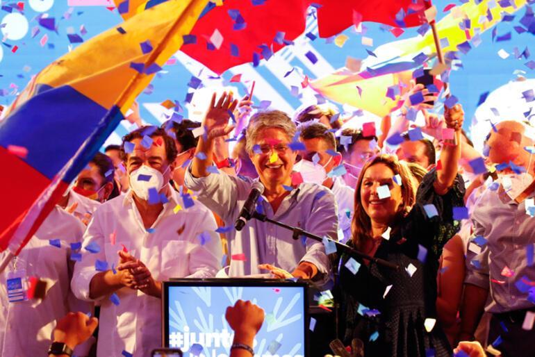 Son dakika: Ekvadorda yeni devlet başkanı belli oldu Lasso zaferini ilan etti