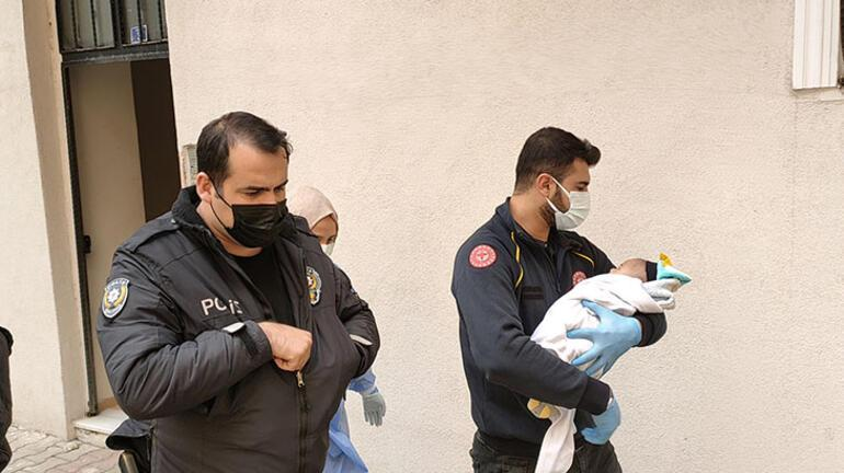 Kocaelide apartman önünde terk edilmiş bebek bulundu