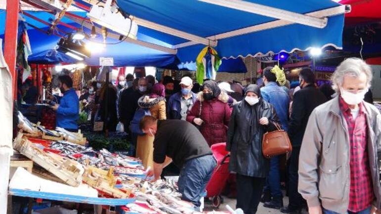 Bursada, ramazan öncesi çarşı ve pazarlarda yoğunluk