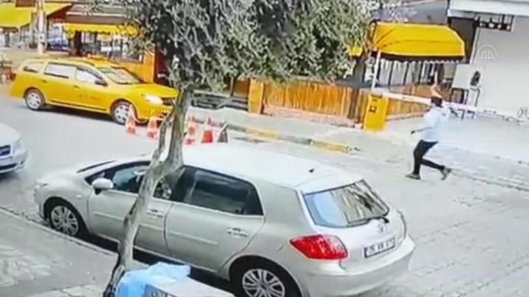 Son dakika... İzmirde kadın yolcu taksiyi kaçırdı, diğer taksiler kovaladı