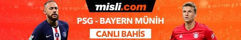 PSG-Bayern Münih karşılaşmasında Canlı Bahis heyecanı Misli.comda