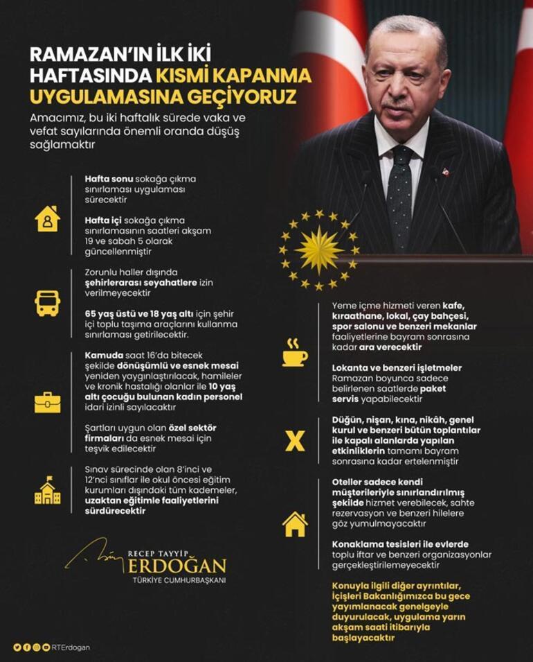 Son dakika Kamuda yeni mesai saati Erdoğan açıkladı