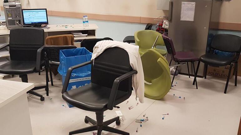 Sağlık çalışanlarına böyle saldırdılar 8 kişi gözaltında...