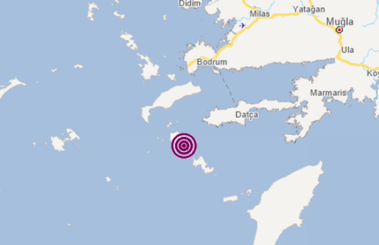 Son dakika Ege Denizinde korkutan deprem