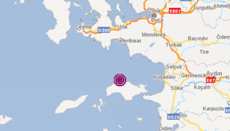 Son dakika... Ege Denizinde peş peşe korkutan depremler
