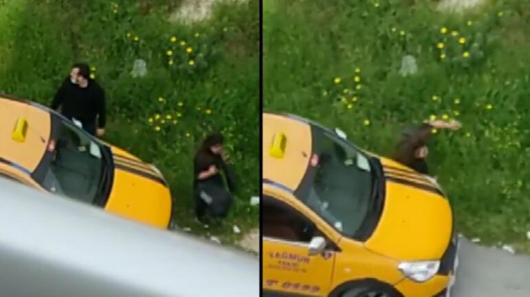 Taksicinin yol ortasında dehşeti yaşattığı kişi, kız kardeşi çıktı