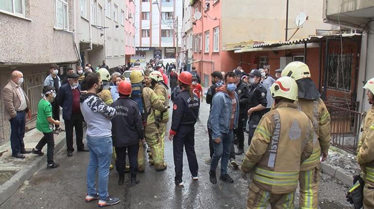 Son dakika... Esenlerde korkutan yangın 1i bebek 5 kişi kurtarıldı